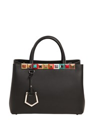 Fendi Small 2Jours Studded Leather Bag