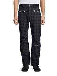 J. Lindeberg Trulli Houndstooth Pants Dog Tooth