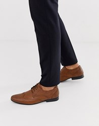 New Look Formal Brogues In Tan