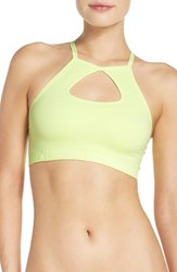Zella Body Women's Recharge Bralette Yellow Chill