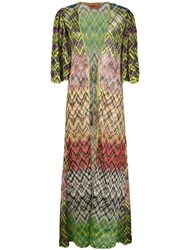 Missoni Mare Long Cover Up Multicolour
