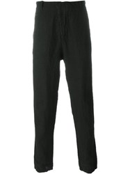 Transit Lightweight Tapered Trousers Black