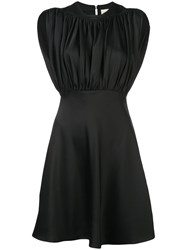Khaite Sleeveless Flared Dress Black