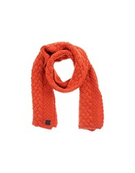 Ice Iceberg Accessories Oblong Scarves Women Red