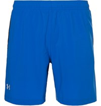 Under Armour Launch 2 In 1 Shell Shorts Blue