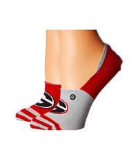 Stance Dawgs Red Women's Crew Cut Socks Shoes