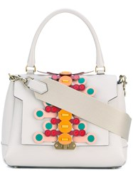 Anya Hindmarch Apex Bathurst Tote Women Calf Leather One Size Grey