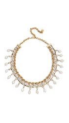 Shourouk Giza Necklace Gold Clear