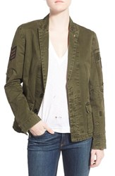 Women's Zadig And Voltaire Military Patch Blazer