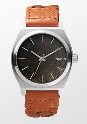 Nixon Time Teller Dark Copper Saddle Woven