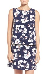 Women's Bobeau Floral Print Sleeveless Top