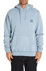 Billabong Wave Washed Graphic Hooded Sweatshirt Mist