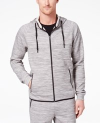 32 Degrees Men's Performance Hooded Sweatshirt Light Grey