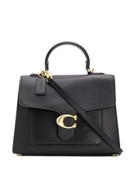 Coach Tabby Top Handle Bag Black
