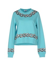 Moschino Cheap And Chic Moschino Cheapandchic Topwear Sweatshirts Women Turquoise