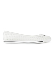 Marc By Marc Jacobs Studded Ballerinas White