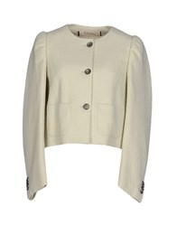 Marni Suits And Jackets Blazers Women Ivory