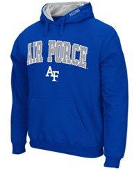 Colosseum Men's Air Force Falcons Arch Logo Hoodie Royalblue