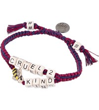Venessa Arizaga Cruel To Bee Kind Ceramic Bracelet Multicolor