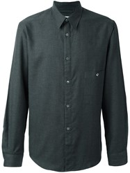 Christophe Lemaire Chest Pocket Shirt Grey