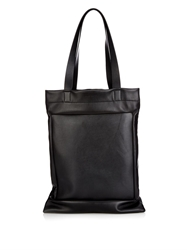 Jil Sander Open Top Leather Tote