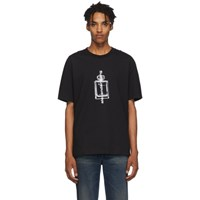 Alexander Wang Black Graphic T Shirt