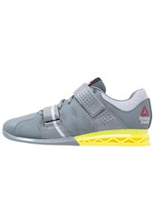 Reebok Crossfit Lifter Plus 2.0 Sports Shoes Dust Grey Yellow