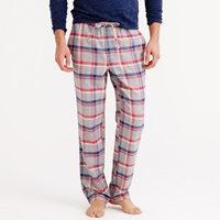 J.Crew Flannel Pajama Pant In Red Plaid