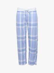 Cyberjammies Amelia Check Print Pyjama Bottoms Blue