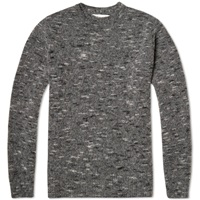 Our Legacy Regular Roundneck Knit Spotted Grey