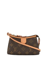 Louis Vuitton Pre Owned Mini Delightful Tote Brown