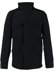 Aspesi Roll Neck Jacket Black