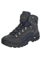 Lowa Renegade Gtx Mid Walking Boots Dunkelgrau Navy Dark Gray