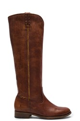 Frye Cara Tall Boot Cognac