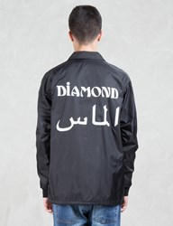Diamond Supply Co. Arabic Coach Jacket