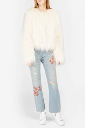 Citizens Of Humanity Cora Embroidered Boyfriend Jeans Blue