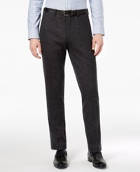 Bar Iii Men's Slim Fit Gray Knit Suit Pants Created For Macy's