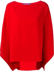 Ralph Lauren Batwing Sleeve Blouse Red