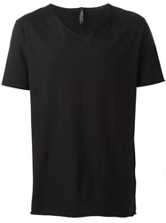 Giorgio Brato Flared T Shirt Black