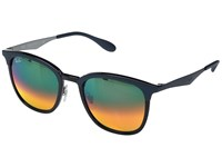 Ray Ban 0Rb4278 51Mm Top Black Shiny Black Frame Light Brown Mirror Red Gradient Lens Fashion Sunglasses Green