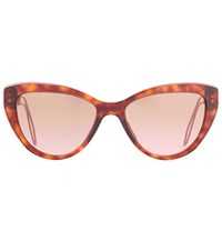 Miu Miu Cateye Sunglasses Brown