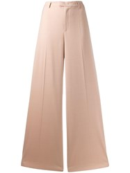 Red Valentino Wide Leg Trousers Pink