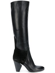 Strategia Knee Length Boots Black