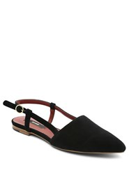 Kensie Cary Point Toe Suede Flats