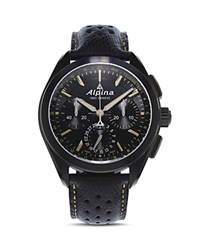 Alpina Alpiner 4 Manufacture Flyback Chronograph 44Mm Black