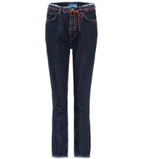 Mih Jeans Mimi High Waisted Blue