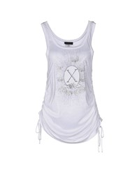 Richmond X Tank Tops White