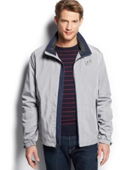 Weatherproof Wind Resistant Soft Shell Oxford Jacket Titanium