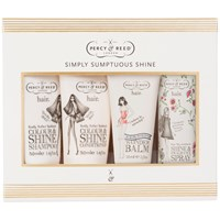 Percy And Reed Simply Sumptuous Shine Hair Heroes Gift Set