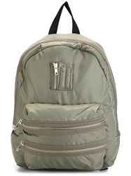 Joshua Sanders Zipped Backpack Green